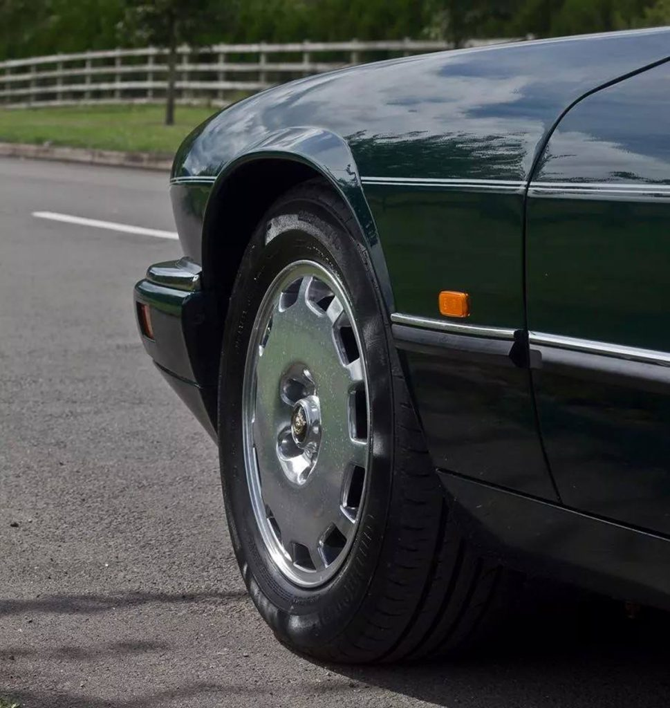 Jaguar XJS Polished Wheels