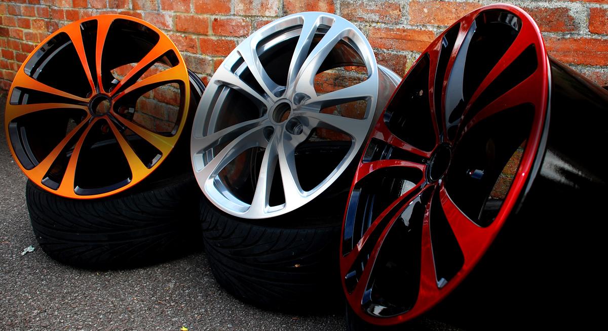Colour Cut Alloy Wheels