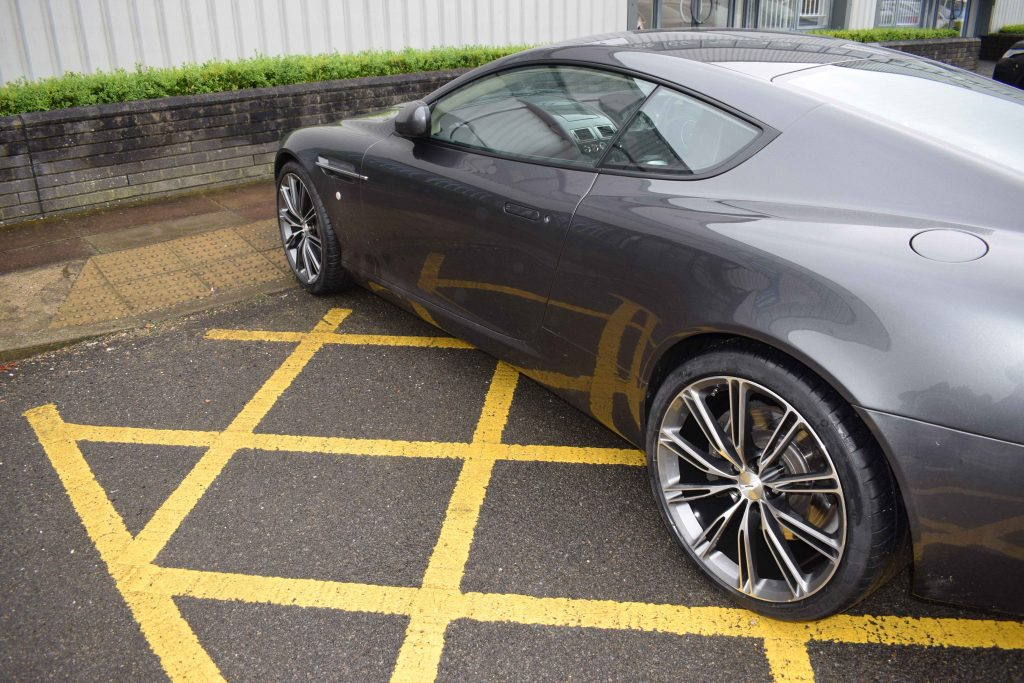 Aston Martin Wheels On Car